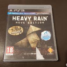Videojuegos y Consolas: PS3 JUEGO HEAVY RAIN MOVE EDITION. Lote 178828622
