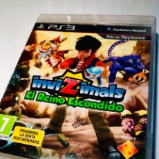 Videojuegos y Consolas: INVIZIMALS EL REINO ESCONDIDO PS3 - PLAYSTATION 3 - CON MANUAL. Lote 179066737