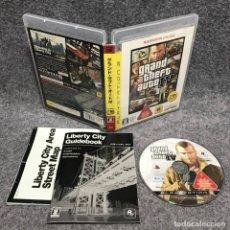Videojuegos y Consolas: GRAND THEFT AUTO IV SONY PLAYSTATION 3 PS3. Lote 179124063