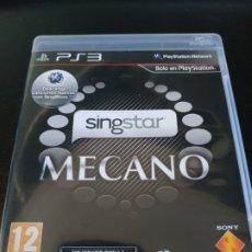Videojuegos y Consolas: SINGSTAR MECANO. Lote 179952173