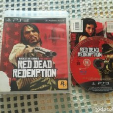 Videojuegos y Consolas: RED DEAD REDEMPTION 1 PS3 PLAYSTATION 3 PLAY STATION 3 KREATEN. Lote 180122115