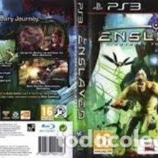 Videojuegos y Consolas: LOTE OFERTA JUEGO PLAY STATION 3 - PS3 - ENSLAVED - ODYSSEY TO THE WEST - MUY NUEVO CON SU MANUAL. Lote 180154742
