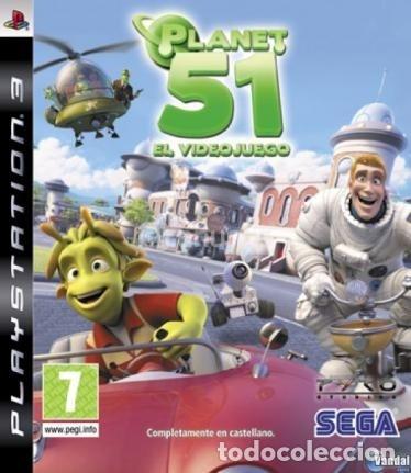LOTE OFERTA JUEGO PLAY STATION 3 - PS3 - PLANET 51 - MUY NUEVO CON SU MANUAL (Juguetes - Videojuegos y Consolas - Sony - PS3)