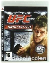 LOTE OFERTA JUEGO PLAY STATION 3 - PS3 - UFC 2009 - UNDISPUTED - MUY NUEVO CON SU MANUAL (Juguetes - Videojuegos y Consolas - Sony - PS3)