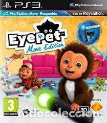 LOTE OFERTA JUEGO PLAY STATION 3 - PS3 - EYEPET MOVE EDITION - MUY NUEVO CON SU MANUAL (Juguetes - Videojuegos y Consolas - Sony - PS3)
