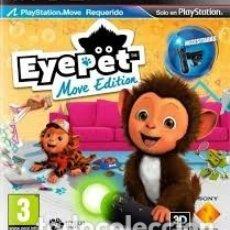 Videojuegos y Consolas: LOTE OFERTA JUEGO PLAY STATION 3 - PS3 - EYEPET MOVE EDITION - MUY NUEVO CON SU MANUAL. Lote 180156590