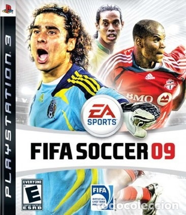 LOTE OFERTA JUEGO PLAY STATION 3 - PS3 - FIFA SOCCER 09 - CON SU MANUAL (Juguetes - Videojuegos y Consolas - Sony - PS3)