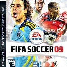 Videojuegos y Consolas: LOTE OFERTA JUEGO PLAY STATION 3 - PS3 - FIFA SOCCER 09 - CON SU MANUAL. Lote 180157530