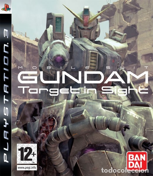 LOTE OFERTA JUEGO PLAY STATION 3 - PS3 - MOBILE SUIT GUNDAM - TARGET IN SIGHE - SIN MANUAL (Juguetes - Videojuegos y Consolas - Sony - PS3)