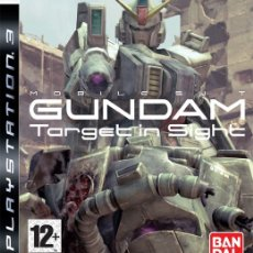 Videojuegos y Consolas: LOTE OFERTA JUEGO PLAY STATION 3 - PS3 - MOBILE SUIT GUNDAM - TARGET IN SIGHE - SIN MANUAL. Lote 180157640