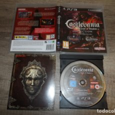 Videojuegos y Consolas: PS3 CASTLEVANIA LORD OF SHADOWS COLLECTION PAL ESP COMPLETO. Lote 180158237