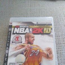 Videojuegos y Consolas: NBA 2K10 PS3. Lote 180169646