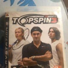Videojuegos y Consolas: JUEGO PS3 TOP SPIN 3. Lote 180255873
