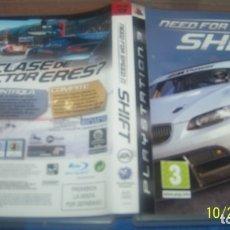 Videojuegos y Consolas: NEED FOR SPEED SHIFT PLAYSTATION 3 PS3 PAL ESP. Lote 180282458