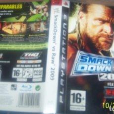 Videojuegos y Consolas: WWE SMACKDOWN VS RAW 2009. PS3 PAL ESP. Lote 180284546