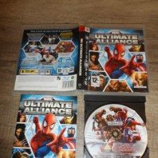 Videojuegos y Consolas: PS3 MARVEL ULTIMATE ALLIANCE PAL ESP COMPLETO. Lote 180314275