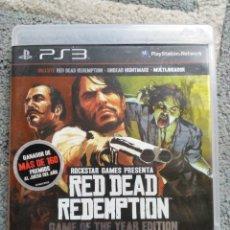 Videojogos e Consolas: RED DEAD REDEMPTION PS3 (INCLUYE UNDEAD NIGHTMARE). Lote 180386443