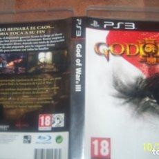 Videojuegos y Consolas: GOD OF WAR III PLAYSTATION 3 PS3 - PAL/ESPAÑA - PLAYSTATION 3 PS3. Lote 135244994
