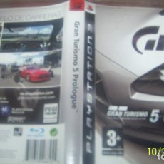 Videojuegos y Consolas: GRAN TURISMO 5 PROLOGUE PS3 PLAYSTATION 3 PAL ESP. Lote 180420462