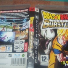 Videojuegos y Consolas: DRAGON BALL Z BURST LIMIT ESPAÑA SONY PLAYSTATION 3 PS3 PAL. Lote 180422108