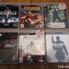 Videojuegos y Consolas: 6 JUEGOS PLAYSTATION 3 ORIGINALES . Lote 180850096