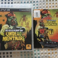 Videogiochi e Consoli: RED DEAD REDEMPTION UNDEAD NIGHTMARE ROCKSTAR PS3 PLAYSTATION 3 PLAY STATION 3 KREATEN. Lote 180879395