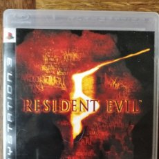 Videojuegos y Consolas: RESIDENT EVIL 5 - VIDEOJUEGO PS3 PLAYSTATION 3 PAL ESPAÑA-. Lote 181544032