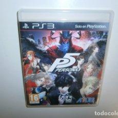 Videojuegos y Consolas: PERSONA 5 PS3. Lote 181679151