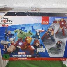 Videojuegos y Consolas: DISNEY INFINITY 2.0 SUPER HEROES EN CAJA. Lote 182028082