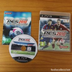 Videojuegos y Consolas: PES 2010 PRO EVOLUTION SOCCER, SONY PLAYSTATION 3 PS3 KONAMI. Lote 182146185