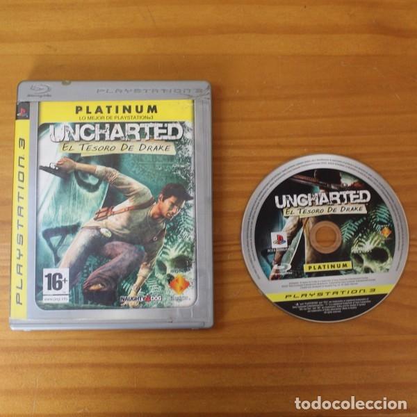 UNCHARTED, EL TESORO DE DRAKE, SONY PLAYSTATION 3 PS3 NAUGHTY DOG (Juguetes - Videojuegos y Consolas - Sony - PS3)