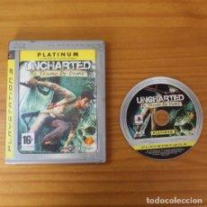 Videojuegos y Consolas: UNCHARTED, EL TESORO DE DRAKE, SONY PLAYSTATION 3 PS3 NAUGHTY DOG. Lote 182146372