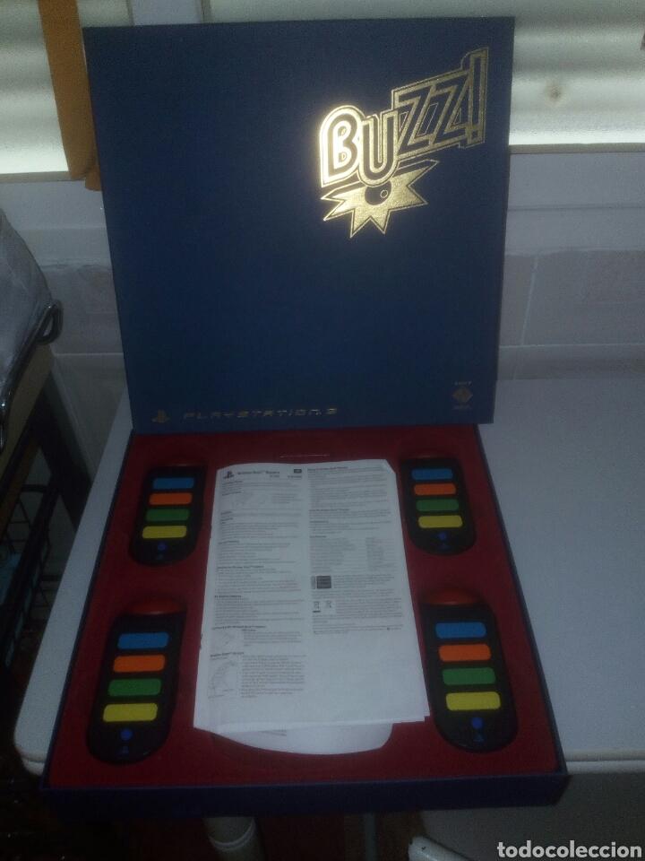 Videojuegos y Consolas: Buzz ps3,sony,mando ps3(sin usb wireless) - Foto 2 - 182352760