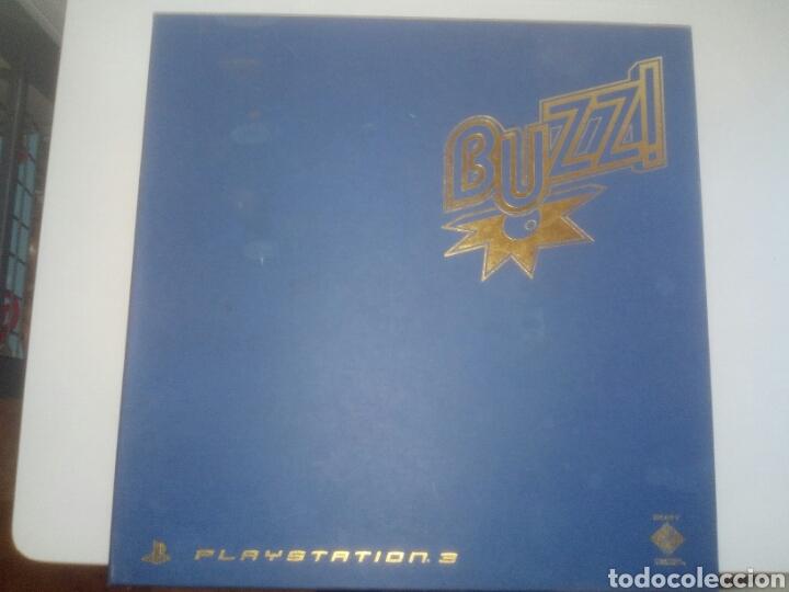 Videojuegos y Consolas: Buzz ps3,sony,mando ps3(sin usb wireless) - Foto 3 - 182352760