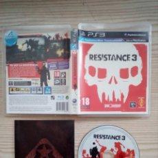 Videojuegos y Consolas: JUEGO PS3 - PLAYSTATION 3 - RESISTANCE 3. Lote 182789122