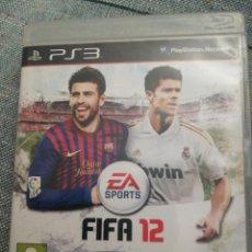 Videojuegos y Consolas: JUEGO PARA PS3 FIFA 12. Lote 183603458