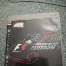 Videojuegos y Consolas: JUEGO PARA PLAYSTATION 3 F1 CHAMPIONSHIP EDITION 2006. Lote 183603980