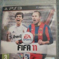 Videojuegos y Consolas: JUEGO PARA PS3 FIFA 11. Lote 183604391