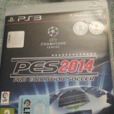 Videojuegos y Consolas: JUEGO PS3 PES 2014. Lote 183604546