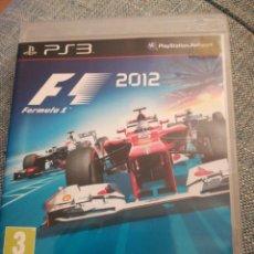 Videojuegos y Consolas: JUEGO PS3 F1 2012. Lote 183604663