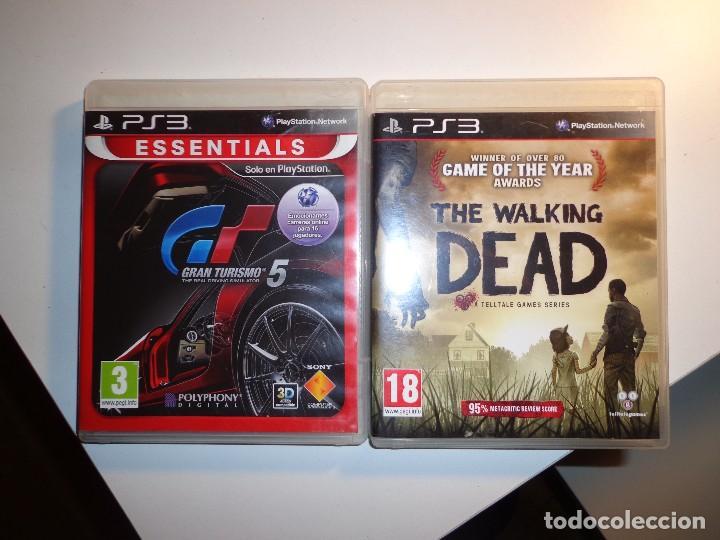 JUEGOS GRAN TURISMO 5 Y THE WALKING DEAD (Juguetes - Videojuegos y Consolas - Sony - PS3)