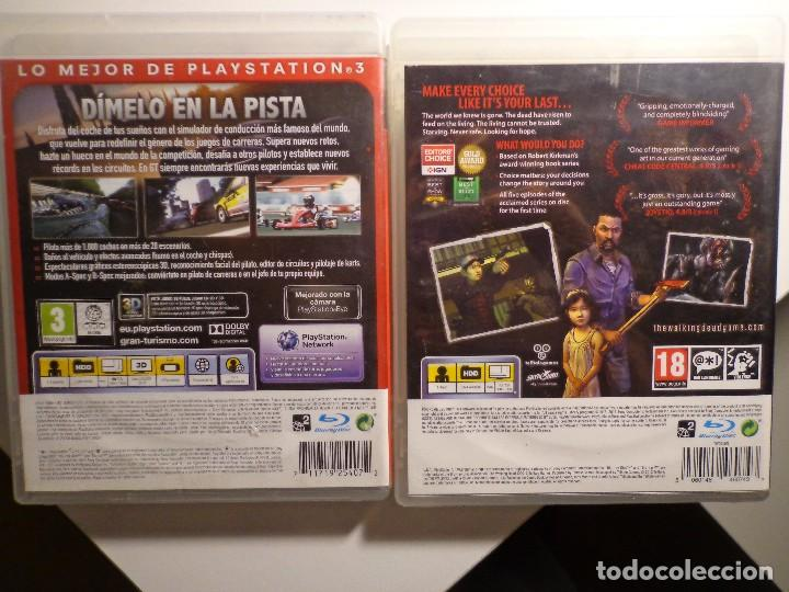 Videojuegos y Consolas: Juegos gran turismo 5 y the walking dead - Foto 2 - 183712916