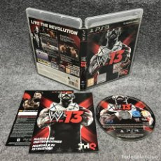 Videojuegos y Consolas: WWE 13 SONY PLAYSTATION 3 PS3. Lote 183724380