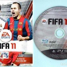 Videojuegos y Consolas: TRES PS3 COPA MUNDIAL DE LA FIFA SUDÁFRICA 2010 MACANO FIFA 2011CON CAJA. Lote 183814870