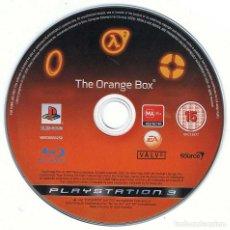 Videojuegos y Consolas: THE ORANGE BOX. HALF LIFE 2. PS3. SOLO DISCO. Lote 183901026