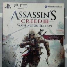 Videojuegos y Consolas: ASSASSINS CREED 3 PS3. Lote 184135608
