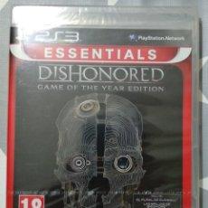 Videojuegos y Consolas: DISHONORED GAME OF THE YEAR PS3 PRECINTADO. Lote 184136020