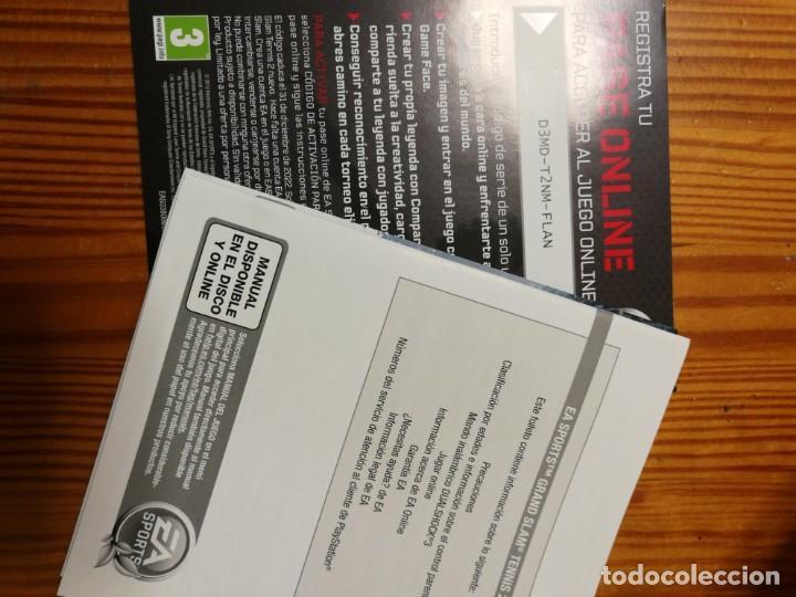 Videojuegos y Consolas: GRAND SLAM TENNIS 2 - JUEGO PS3 - Foto 3 - 184221211