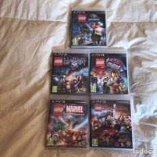 Videojuegos y Consolas: ESTUPENDOS JUEGOS PARA PS3 DE LEGO. Lote 184251011