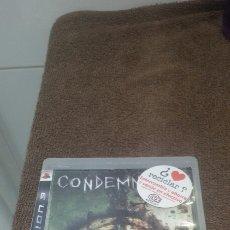 Videojuegos y Consolas: JUEGO DE LA PLAY3 CONDEMNED. Lote 184336463